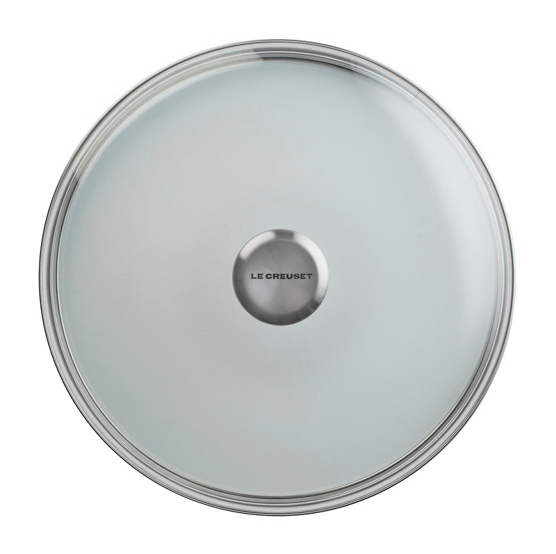 "Le Creuset 11"" Glass Lid w/Stainless Steel Knob"