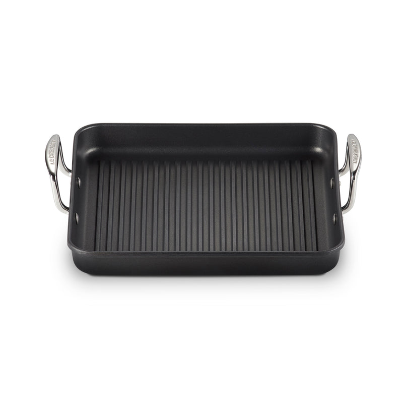 "Le Creuset 11"" Square Grill Pan - Toughened Nonstick PRO"