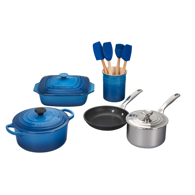 Le Creuset 12 Piece Mixed Material Set - Marseille