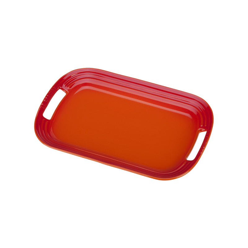 "Le Creuset 12"" Serving Platter - Flame"