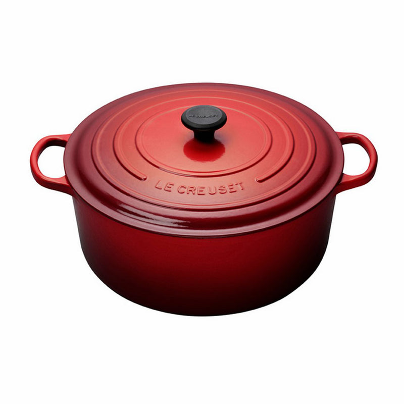 Le Creuset 13 1/4 Qt. Signature Round French Oven - Cherry