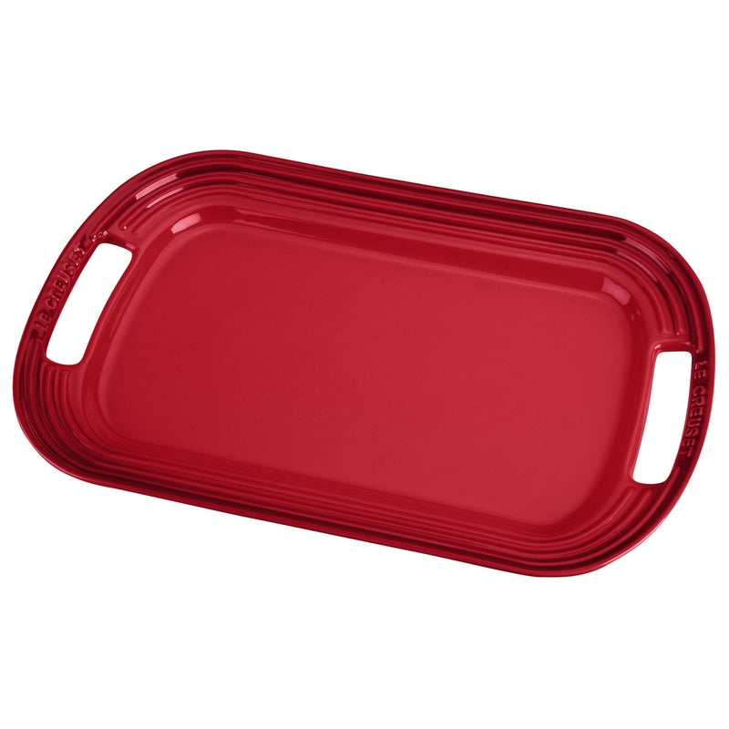 "Le Creuset 16 1/4"" Serving Platter - Cherry"