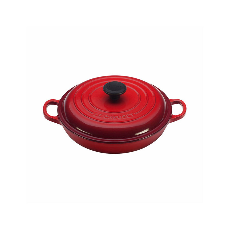 Le Creuset 1 1/2 Qt. Signature Braiser - Cherry
