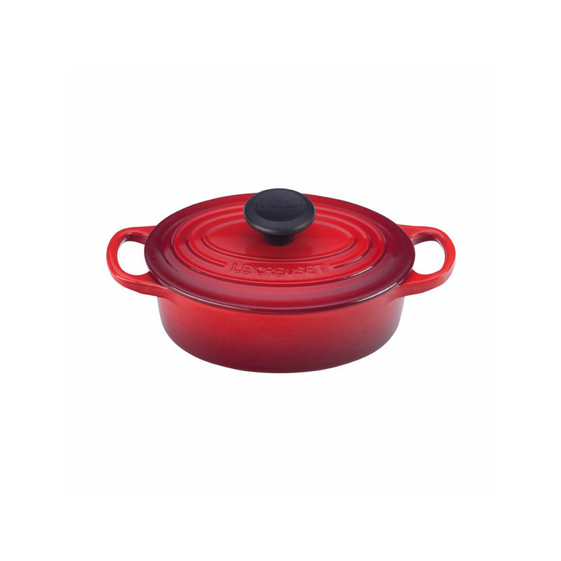 Le Creuset 1 Qt. Signature Oval French Oven - Cherry
