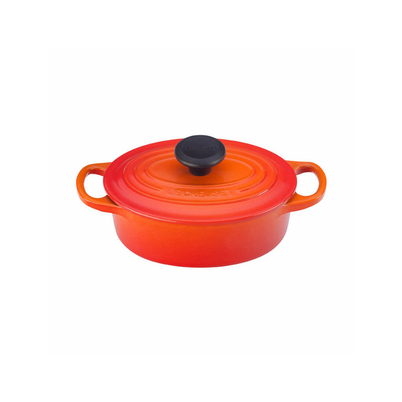 Le Creuset 1 Qt. Signature Oval French Oven - Flame