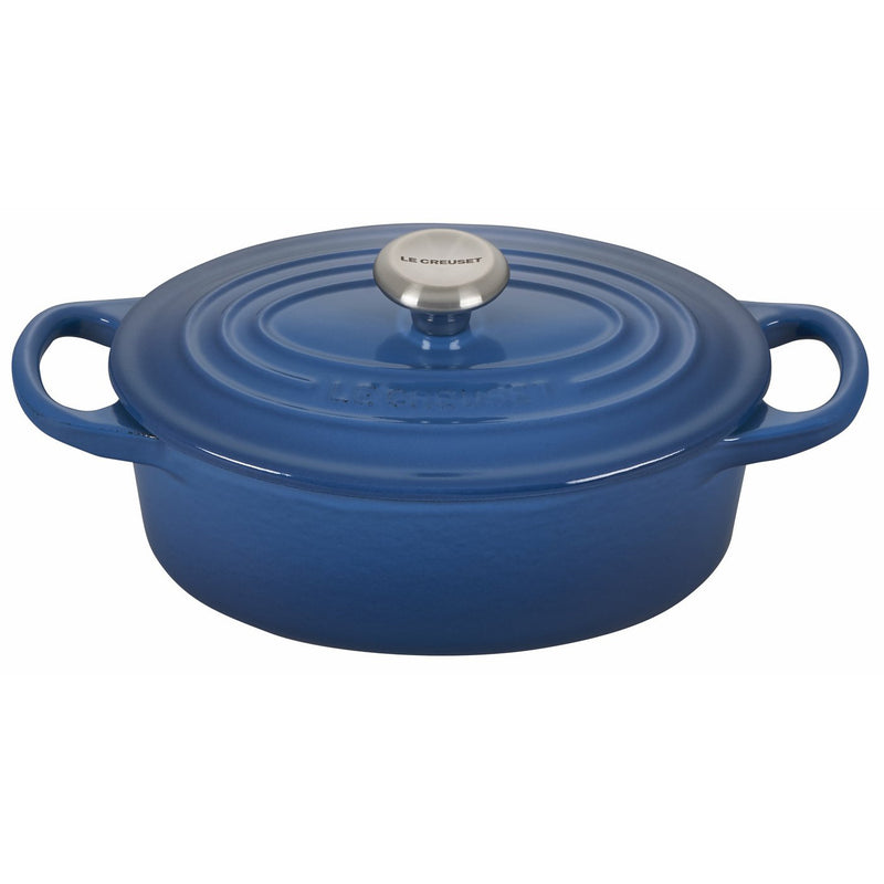 Le Creuset 1 Qt. Signature Oval French Oven w/Stainless Steel Knob - Marseille