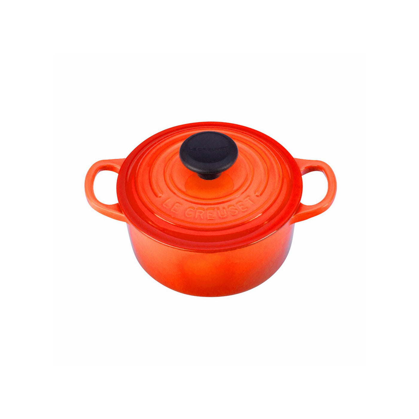 Le Creuset 1 Qt. Signature Round French Oven - Flame