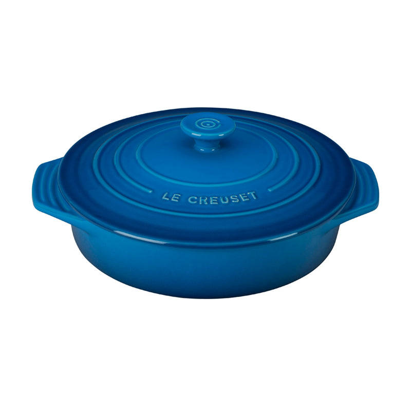 "Le Creuset 2 1/10 Qt. (9 1/2"") Covered Round Casserole - Marseille"