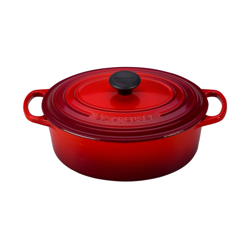 Le Creuset 2 3/4 Qt. Signature Oval Dutch Oven - Cerise