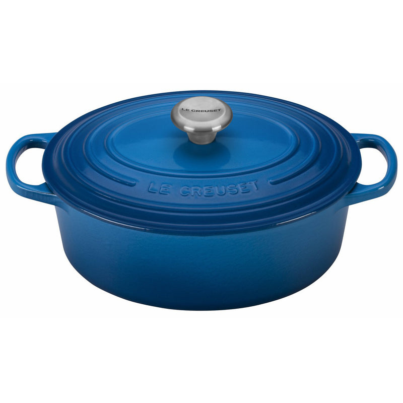 Le Creuset 2 3/4 Qt. Signature Oval Dutch Oven w/Stainless Steel Knob - Marseille