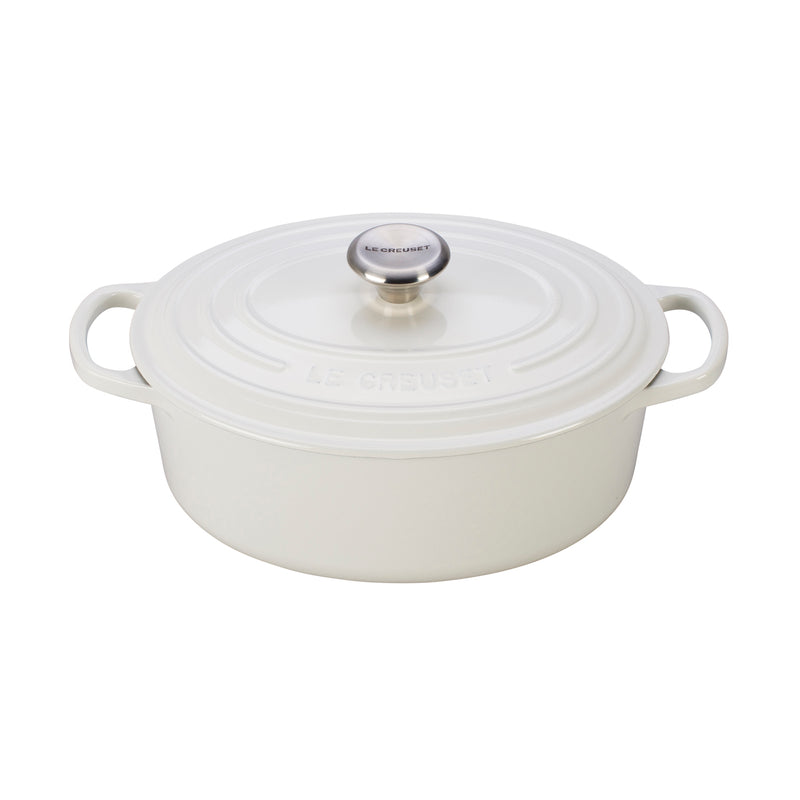 Le Creuset 2 3/4 Qt. Signature Oval Dutch Oven - White