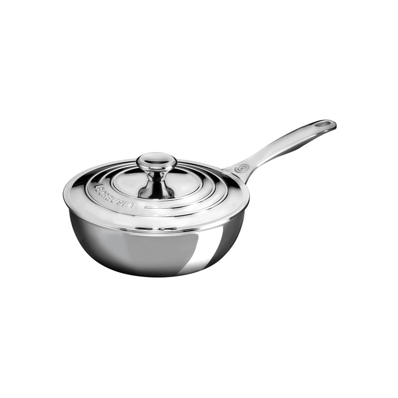 Le Creuset 2 qt. Saucier Pan with Lid2016 House Special - Stainless Steel
