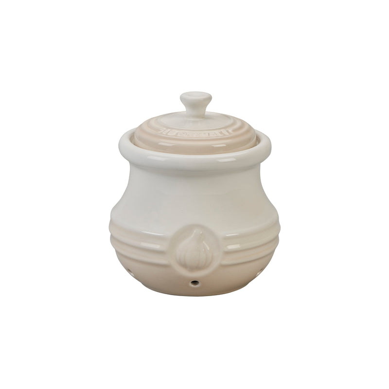 Le Creuset 20 oz. Garlic Keeper - Meringue