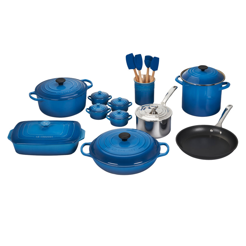 Le Creuset 20 Piece Mixed Material Set - Marseille