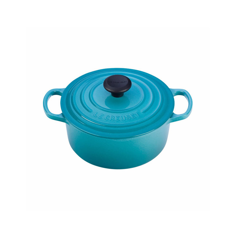 Le Creuset 2 Qt. Signature Round French Oven - Caribbean