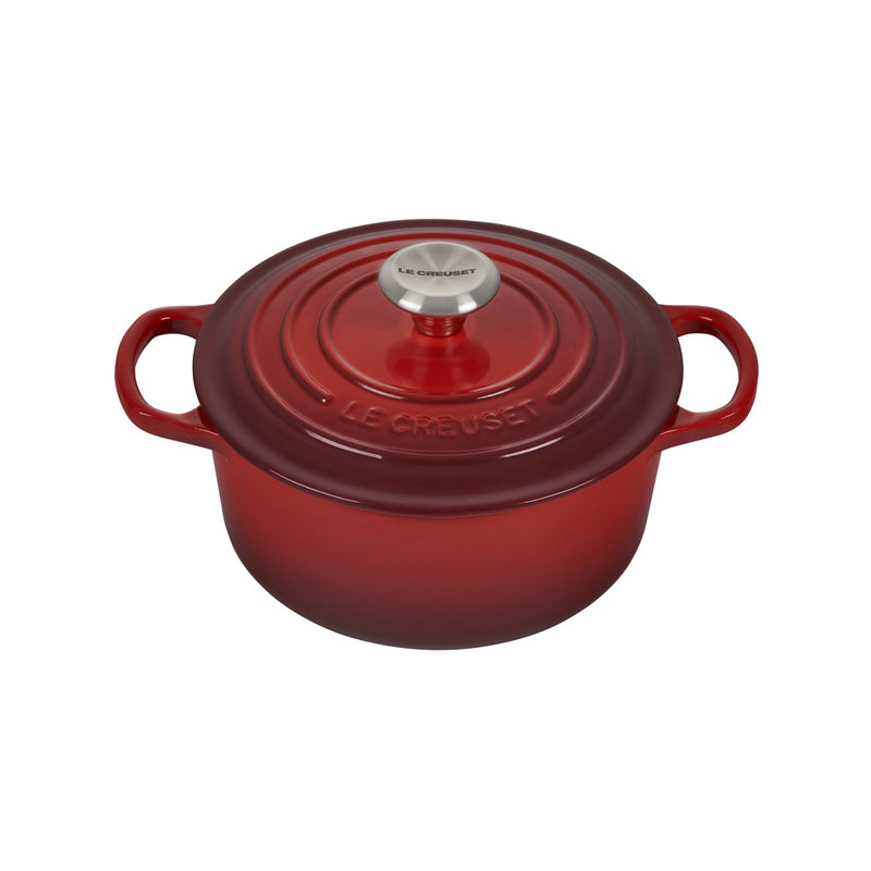 Le Creuset 2 Qt. Signature Round French Oven - Cherry