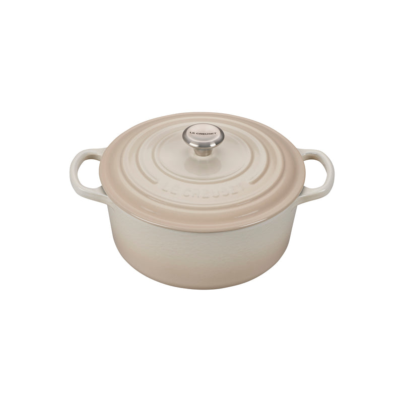 Le Creuset 3 1/2 Qt. Signature Round Dutch Oven - Meringue