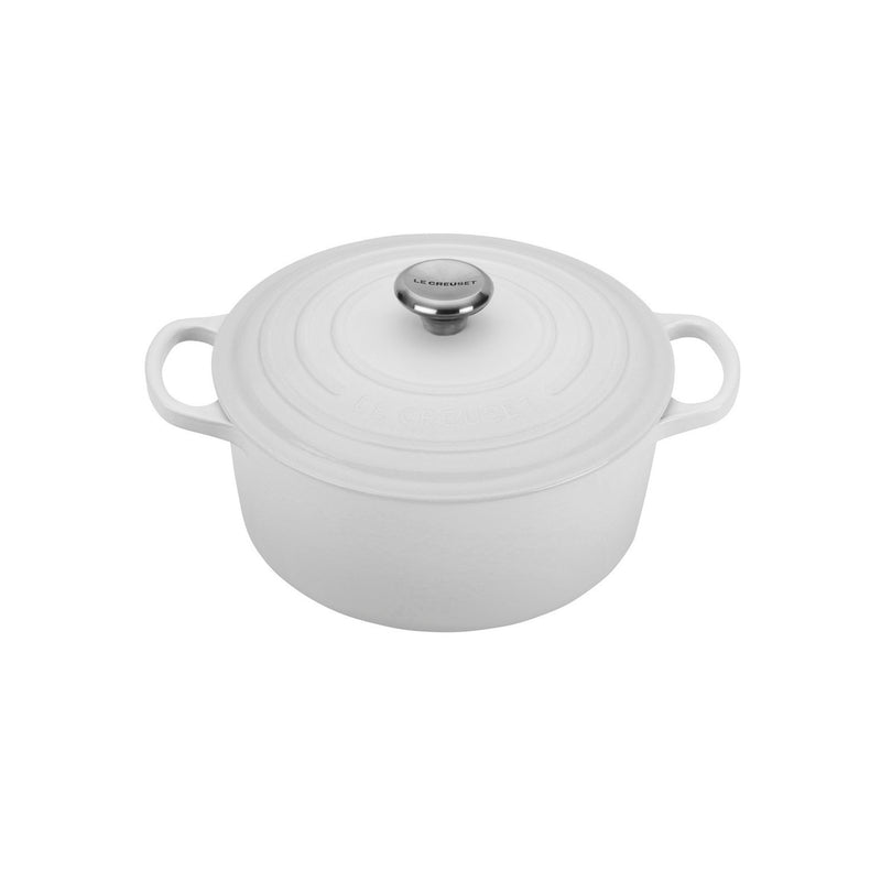 Le Creuset 3 1/2 Qt. Signature Round Dutch Oven - White
