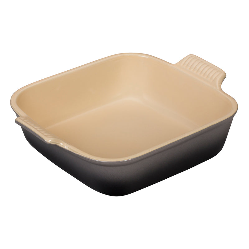 "Le Creuset 3 Qt. (9"") Heritage Square Dish - Oyster"