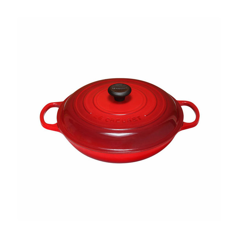 Le Creuset 3 3/4 Qt. Signature Braiser - Cherry