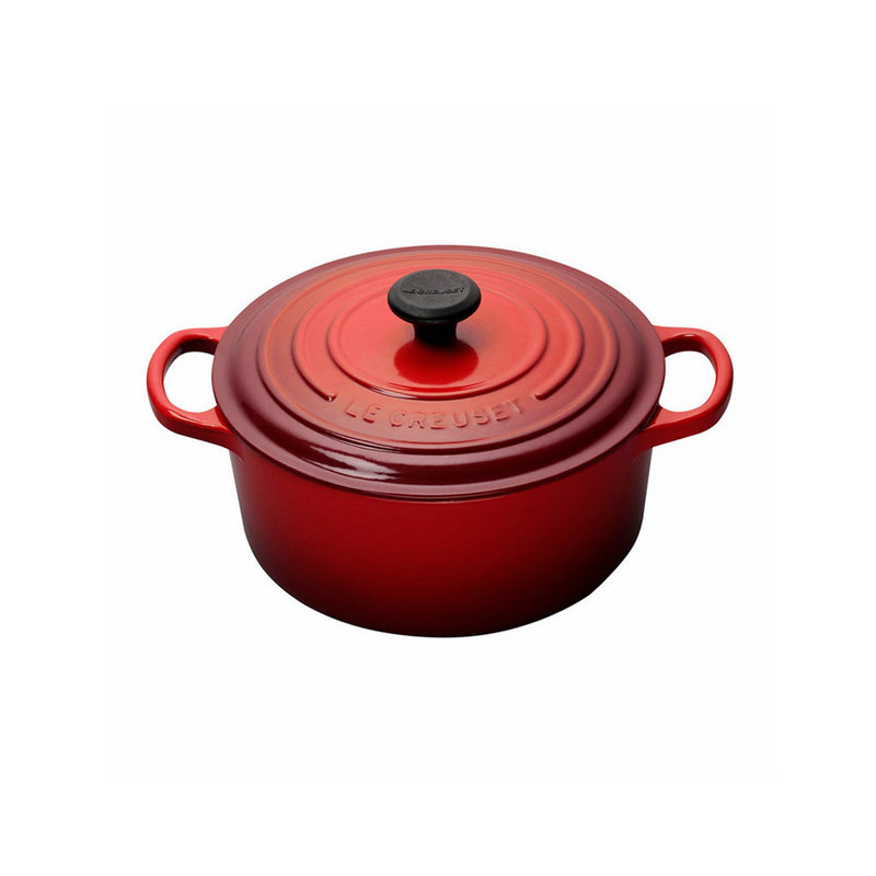 Le Creuset 3 1/2 Qt. Signature Round French Oven - Cherry