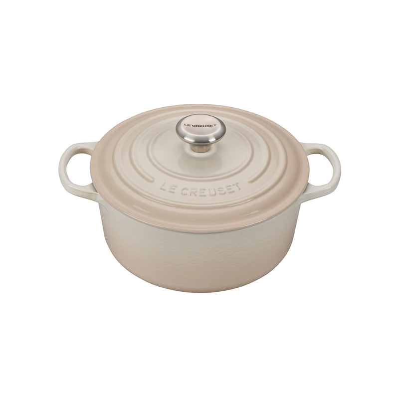 Le Creuset 4 1/2 Qt. Signature Round Dutch Oven - Meringue