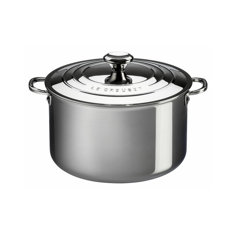 Le Creuset 4 Qt. Casserole with Lid - Stainless Steel