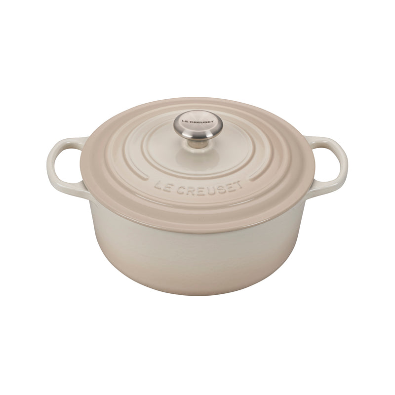 Le Creuset 5 1/2 Qt. Signature Round Dutch Oven - Meringue