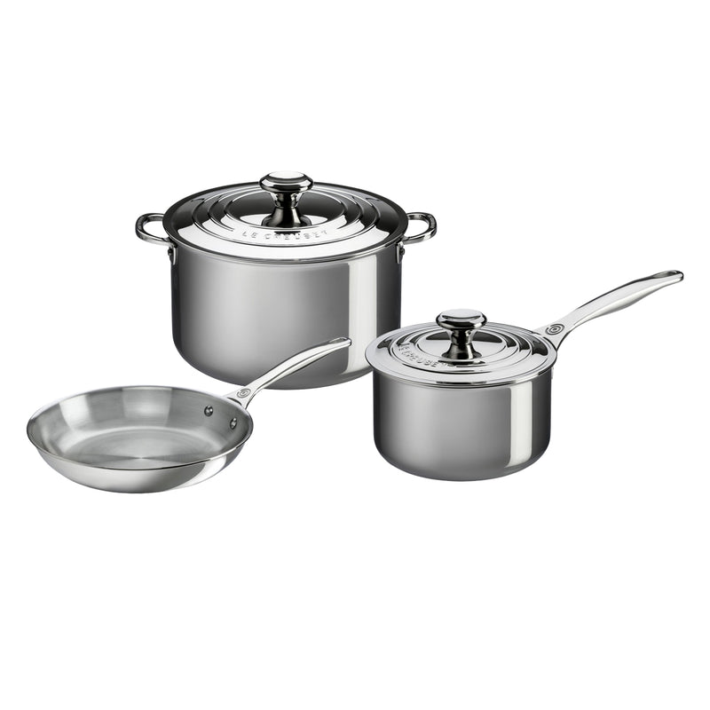 Le Creuset 5 Piece Set- Stainless Steel