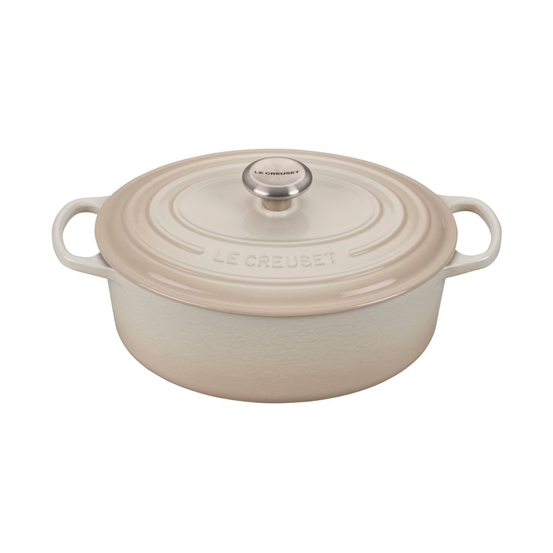 Le Creuset 5 Qt. Signature Oval Dutch Oven - Meringue