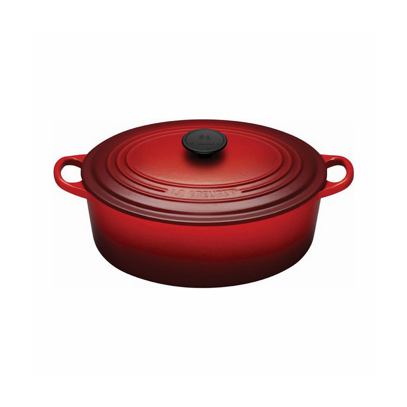 Le Creuset 5 Qt. Signature Oval French Oven - Cherry