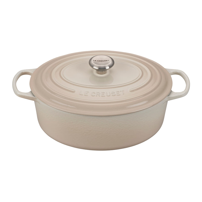 Le Creuset 6 3/4 Qt. Signature Oval Dutch Oven - Meringue