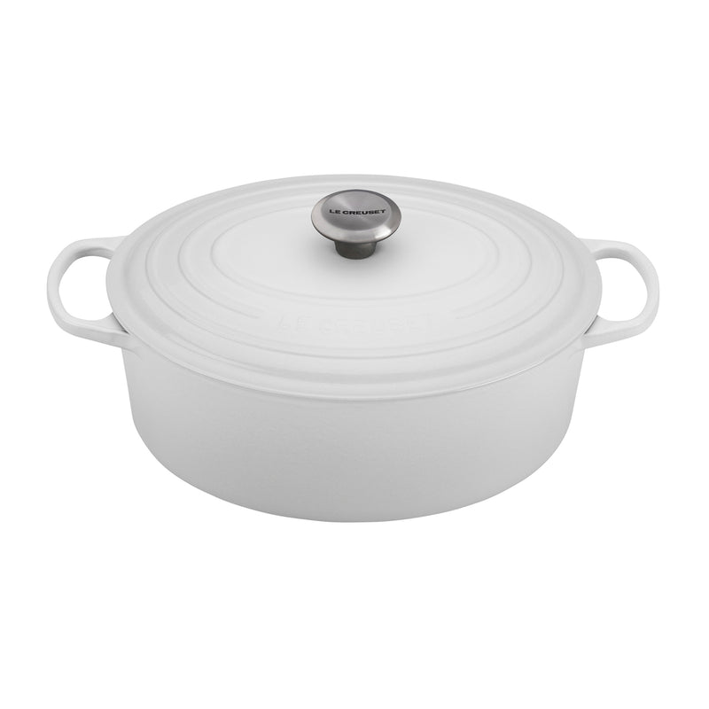 Le Creuset 6 3/4 Qt. Signature Oval French Oven - White