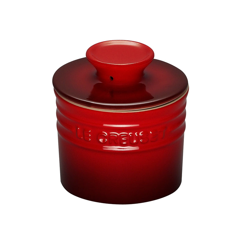 Le Creuset 6 oz. Butter Crock - Cherry