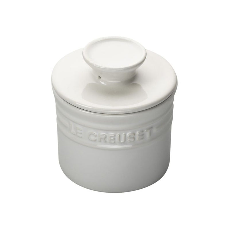 Le Creuset 6 oz. Butter Crock - White
