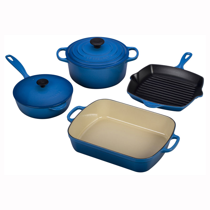 Le Creuset 6 Piece Signature Set - Marseille
