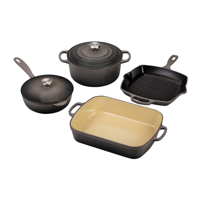 Le Creuset 6 Piece Signature Set - Oyster
