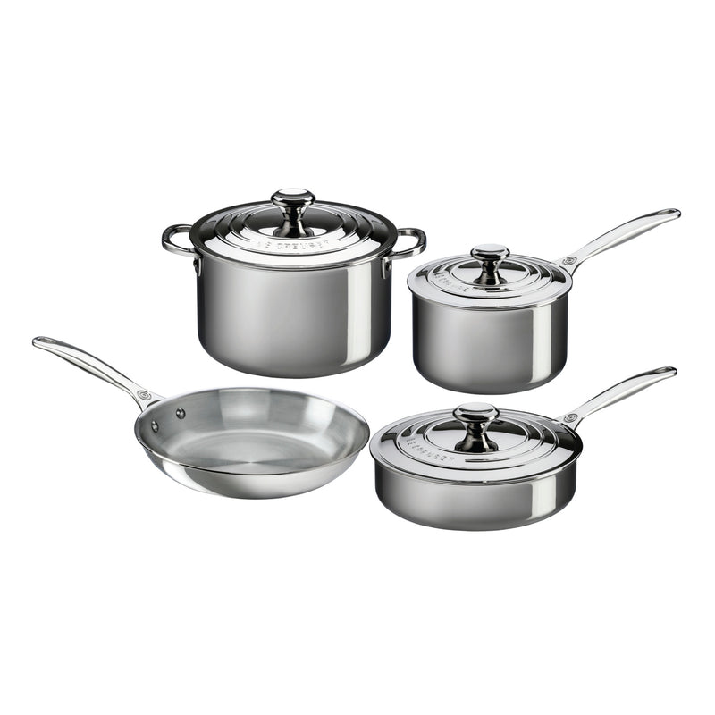 Le Creuset 7 Piece Set - Stainless Steel