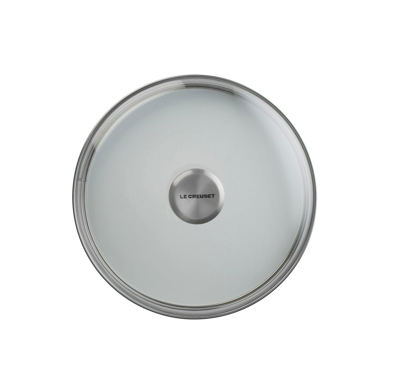 "Le Creuset 8"" Glass Lid w/Stainless Steel Knob"