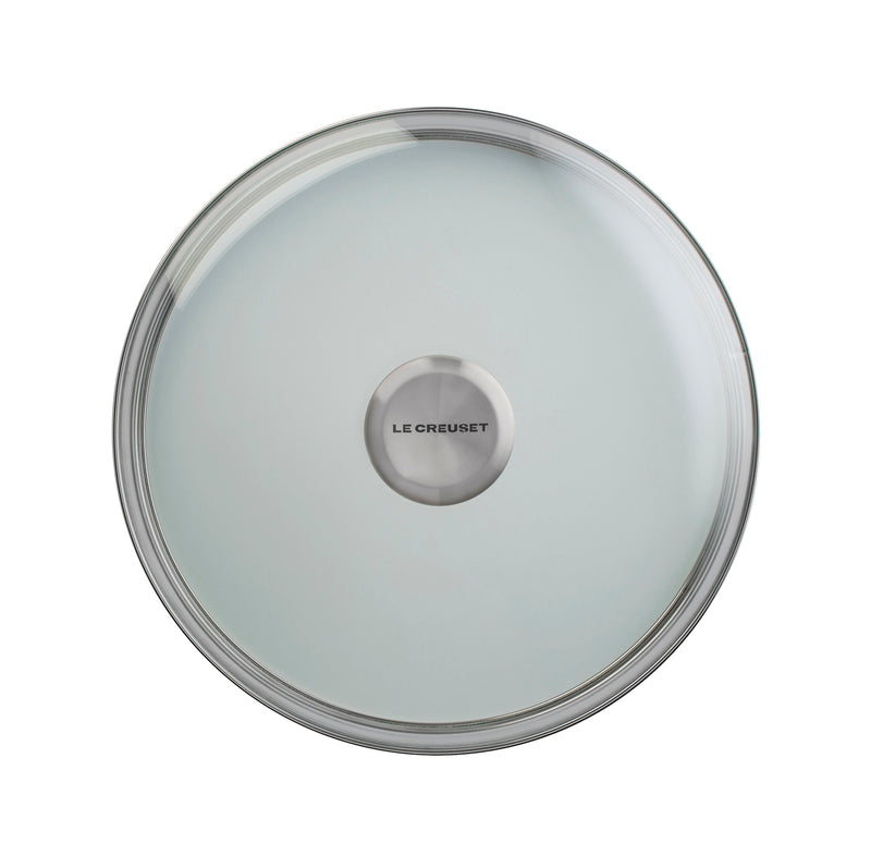 "Le Creuset 9 1/2"" Glass Lid w/Stainless Steel Knob"