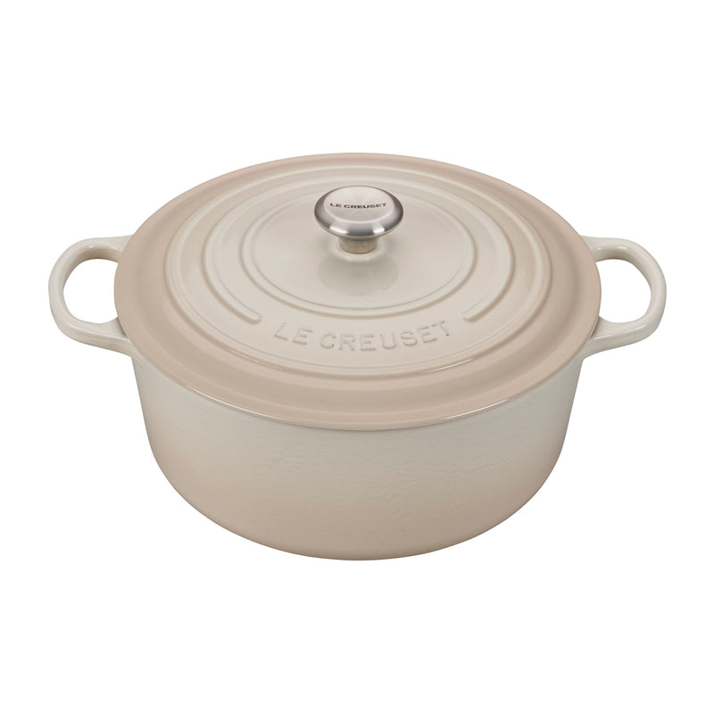 Le Creuset 9 Qt. Signature Round Dutch Oven - Meringue