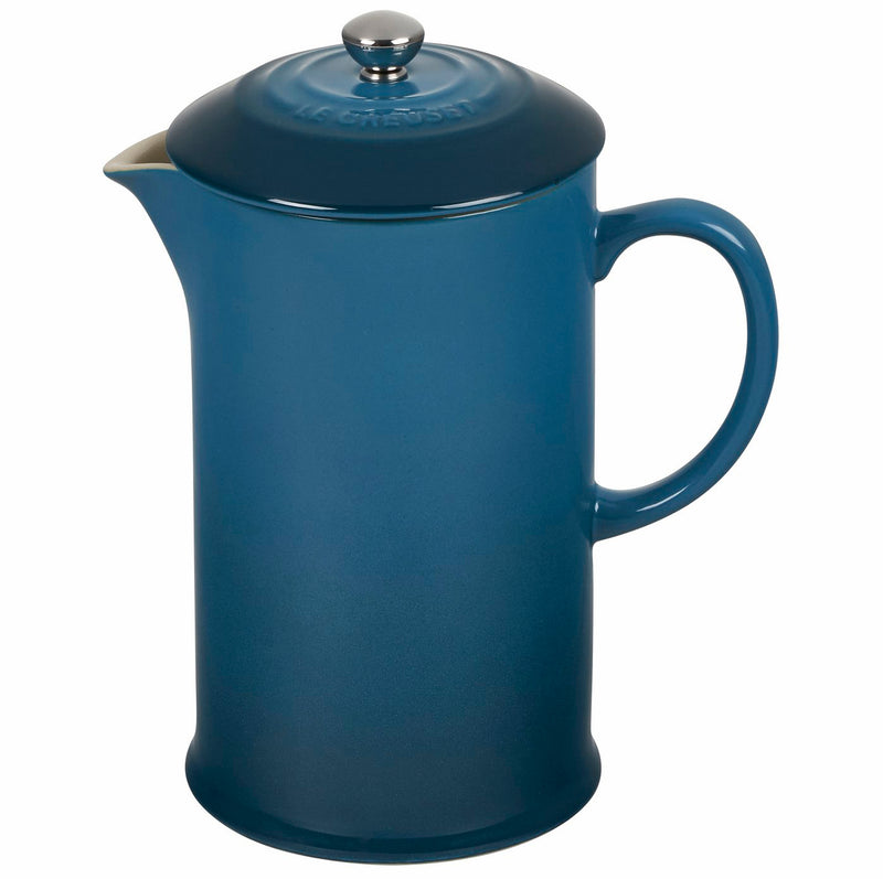 Le Crueset 34 oz. French Press - Deep Teal