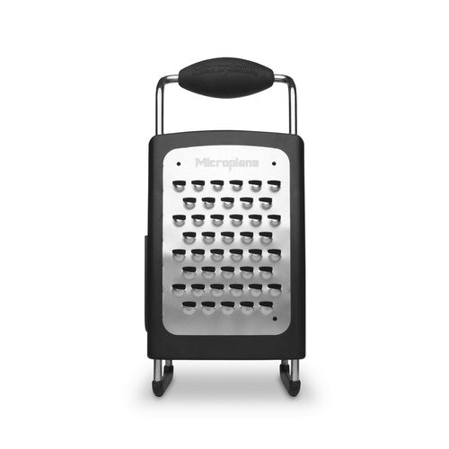 Microplane 4-Sided Box Grater - Black