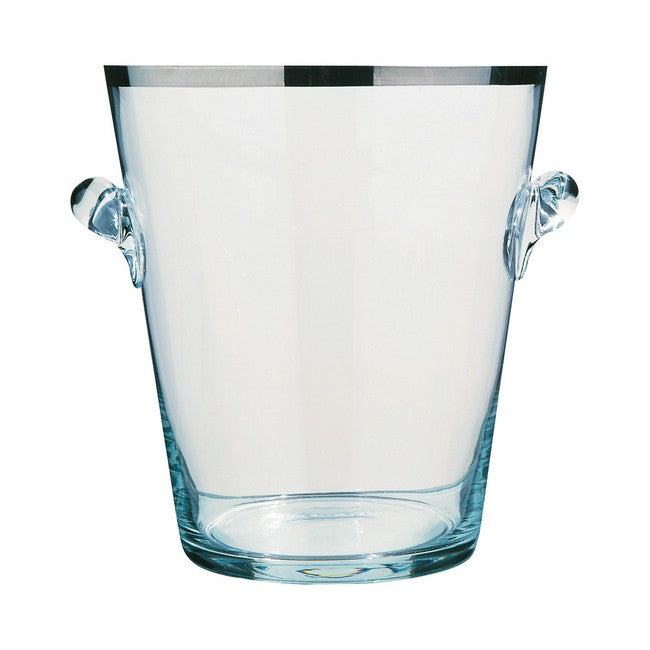 Peugeot Champagne Bucket - Glass with Platinum Accent