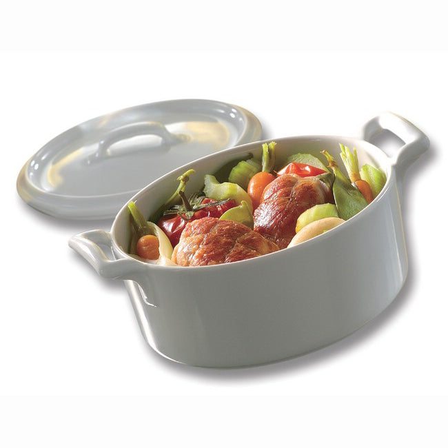 Revol Belle Cuisine Cocotte With Lid 45Cl - White