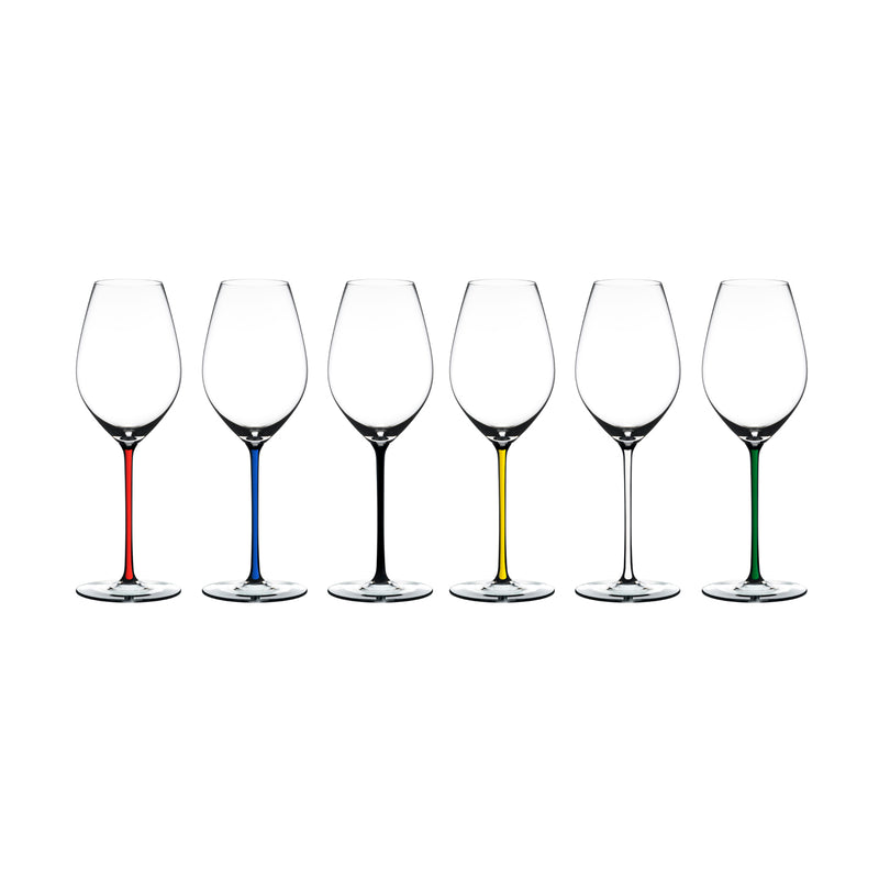 Riedel Fatto A Mano Value Set: Champagne Wine Glasses - Set of 6