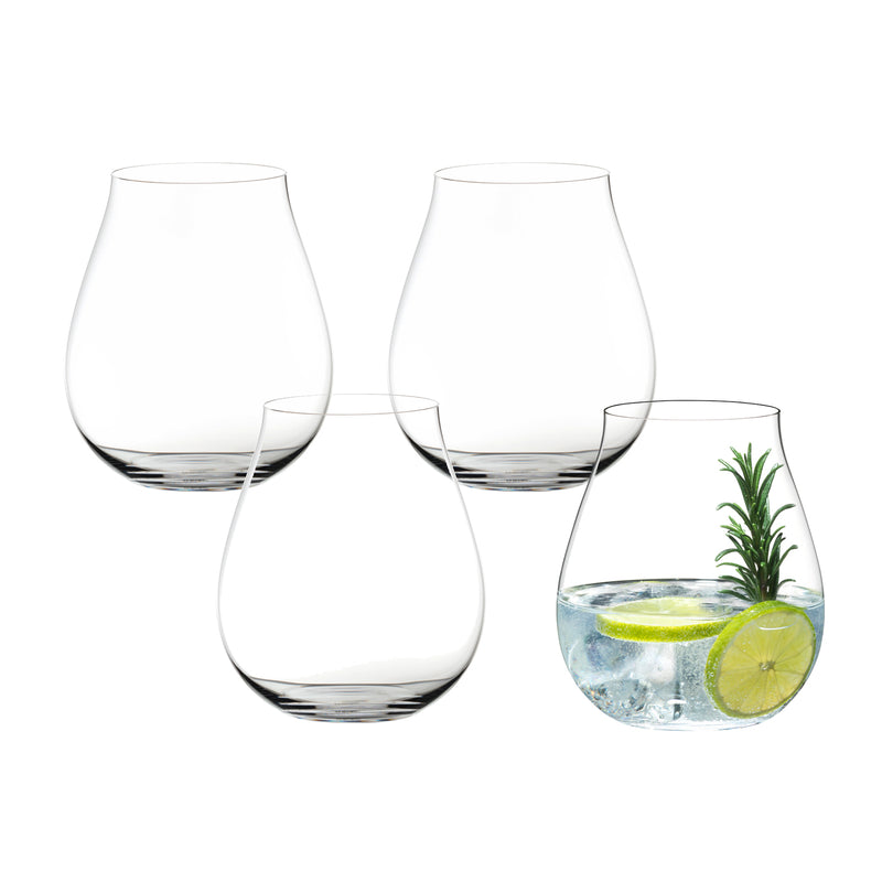 Riedel O Gin O'Clock Gin Tumblers - Set of 4