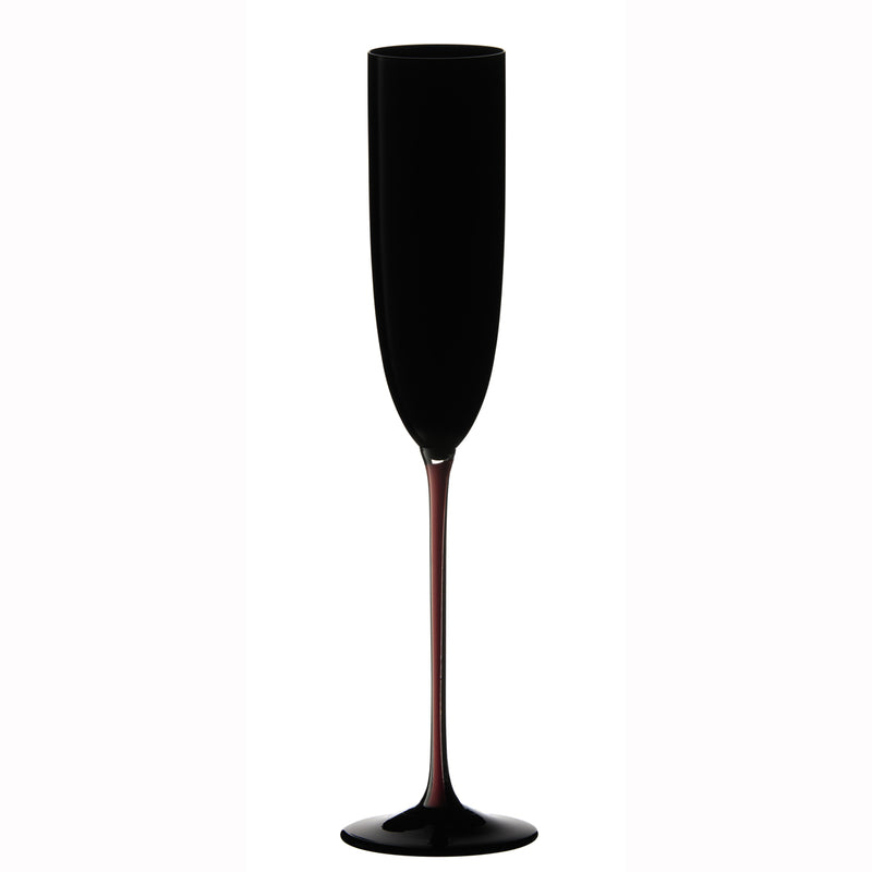 Riedel Sommeliers Black Series - Black/Red/Black Champagne Glass