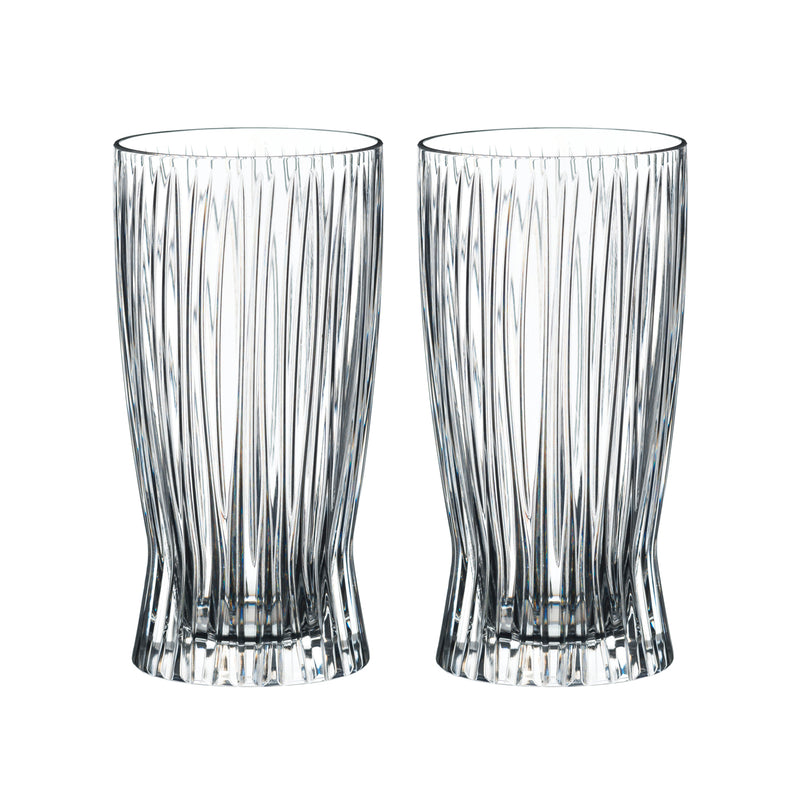 Riedel Tumbler Fire Longdrink Glasses - Set of 2