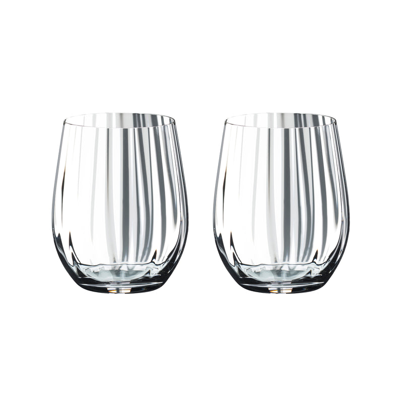 Riedel Tumbler Optical O Whisky Glasses - Set of 2